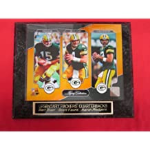 Packers BART STARR BRETT FAVRE AARON RODGERS Engraved Collector Plaque w/8x10 Photo LEGACY SERIES