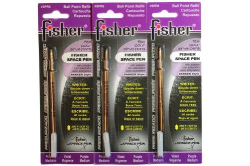 Fisher Space Purple Refills Medium