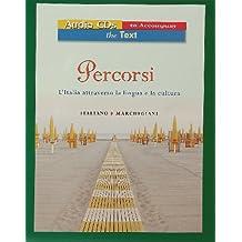 Audio for Percorsi: l'Italia attraverso la lingua e la cultura