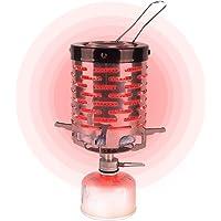 ALIXIN-Estufa de Camping portátil Mini Estufa de Calentamiento de Carpa,Adaptador de Calentador de Estufa para mochilero…