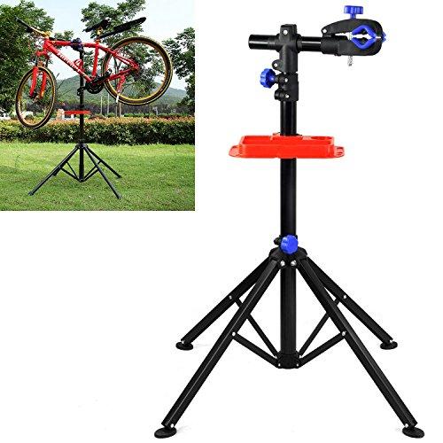 Yahee 360° drehbar Reparaturständer 50 kg Unterstützt Fahrrad Montageständer Werkzeugständer verstellbar