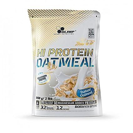 Olimp Hi proteína Oatmeal, 900 g Proteínas copos de avena ...