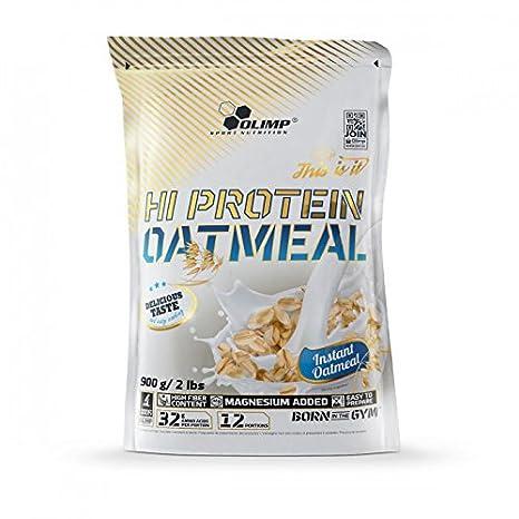 Olimp Hi proteína Oatmeal, 900 g Proteínas copos de avena: Amazon.es: Salud y cuidado personal