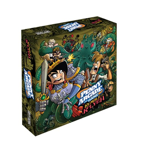 Penny Arcade The Game: Rumble in R'lyeh (Arcade Game Penny Board)