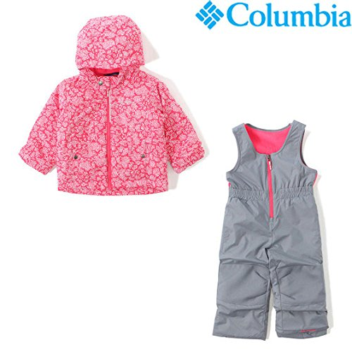 (コロンビア) Columbia FROSTY SLOPE SET 3T PUNCH PINK FLORAL