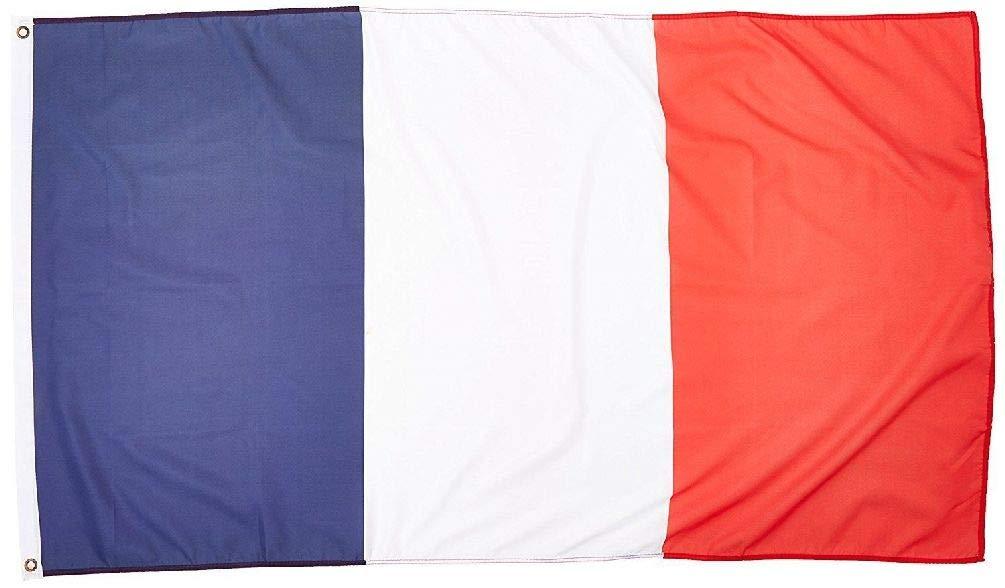 BlackC Home 3ft x 5ft France Flag - Polyester - 3x5 French Flag