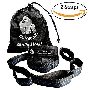 Amazon Com Chill Gorilla Pro Xl Hammock Tree Hanging