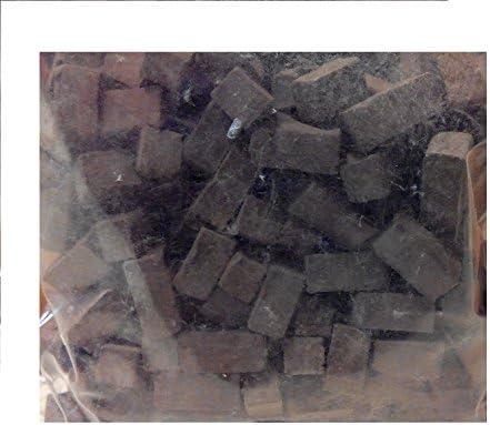 Pack 155 gramos piedra negra irregular alargada miniatura para maquetas. CUIT2954