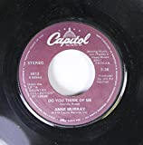 Anne Murray 45 RPM Do You Think of Me / Daydream Believer