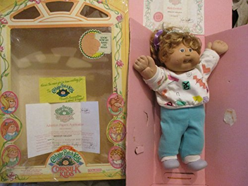 The Official Cabbage Patch Doll Cornsilk Kids Named Jocelyn with Birth Certificate
