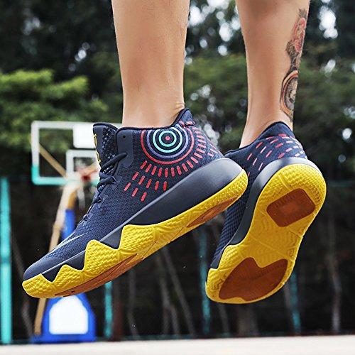 Couple Town 66 Mens Basketball Sports Shoes Womens blue Deep Shoes Sneaker Outdoor Running No BqwAxw
