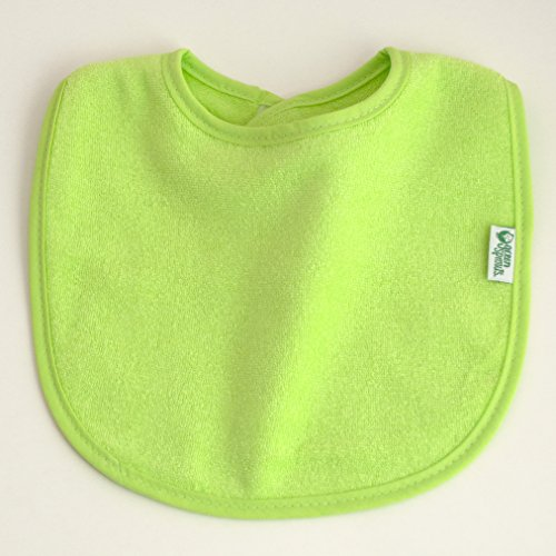 green sprouts Stay-dry Infant Bibs, 10 Count, Pink Set