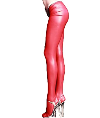 8d44654ba71d3 Lazutom Women Lady Sexy Low Waist Latex Zipper Crotch Leggings Pants Skinny  Trousers Tight Pants Club Stage Costumes: Amazon.co.uk: Clothing