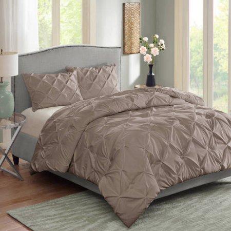 Better Homes and Gardens Pintuck Bedding Comforter Mini Set