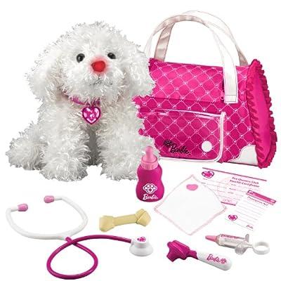 Barbie Hug N Heal Pet Dr Maltese White by KIDdesigns, Inc