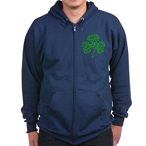 Irish Shamrocks Zip Hoodie - 8