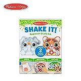 Toys : Melissa & Doug Shake It! Safari Animals Beginner Craft Kit