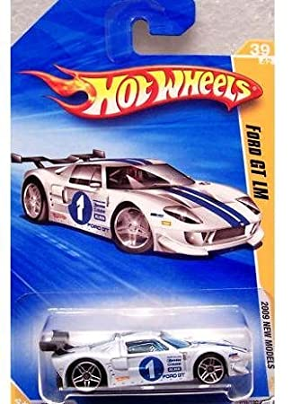 Hot Wheels   New Models Ford Gt Lm White  Scale
