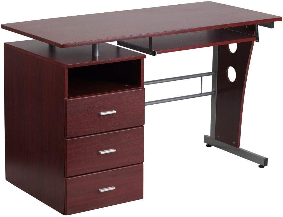 Huron Counter Chain Pen Bank Reception Desk Blue Like MMF 28908