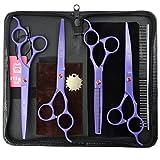 Best LILYS PET Grooming Scissors - LILYS PET 7inch Professional PET DOG Grooming scissors Review