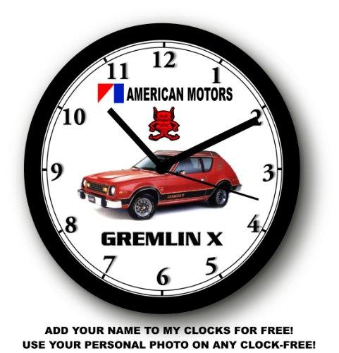 1978 AMERICAN MOTORS GREMLIN X WALL CLOCK-Free USA Ship