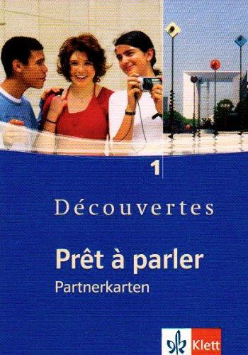 Découvertes/Prêt à parler - Partnerkarten zu Découvertes 1 (5.-7. Klasse)