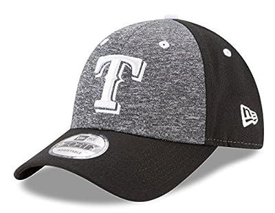"Texas Rangers New Era 9Forty MLB ""League Shadow 2"" Adjustable Hat - Black"