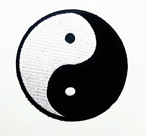 - Chinese Feng Shui Ying / Yin Yang Iron-on Embroidered Patch Tai Chi Taoism NEW + FREE GIFT