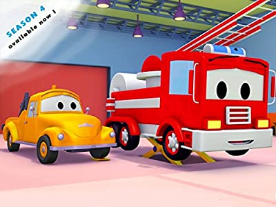 Tom The Tow Truck and Lily the School Bus