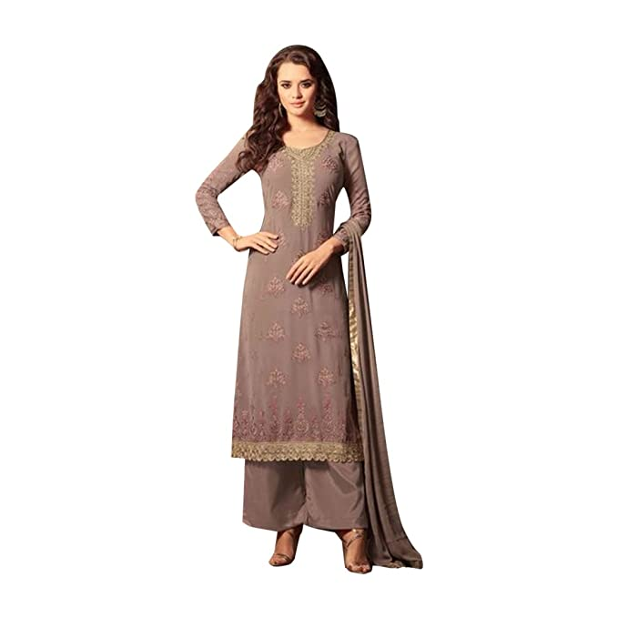 Amazon.com: Recién llegados recto de Bollywood Salwar Kameez ...