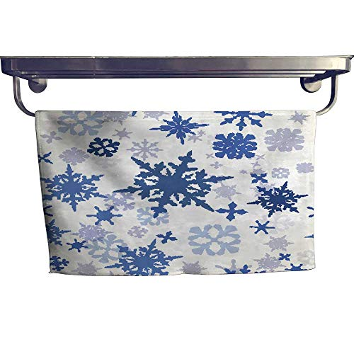 Chr Bar (warmfamily Beach Towels Wallpaper Pattern with Hand Drawn Shiny Snowflakes Ideal for Chr Towel W 12