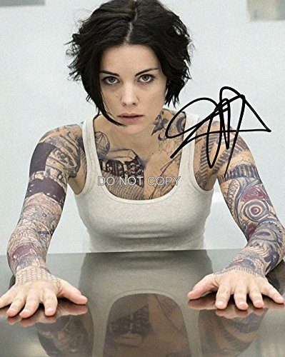 Jaimie Alexander of Blindspot Tv show reprint signed autographed photo #1 RP from Loa_Autographs