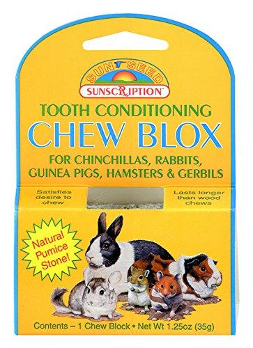 Sun Seed Company SSS39401 Small Animal Wood Chew Blox Display, (Sun Seed Company Hamster)
