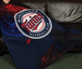 Minnesota Twins MLB Fleece Throw Blanket by Northwest