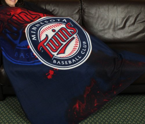 Minnesota Twins MLB Fleece Throw Blanket by Northwest