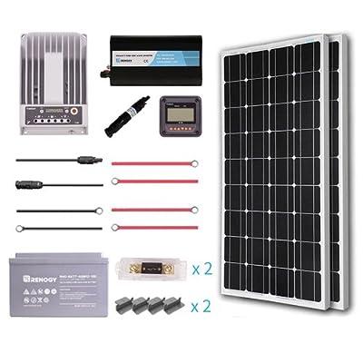 Renogy Complete Solar Panel(100D) kit Monocrystalline (AGM)