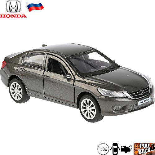 1:36 Scale Diecast Metal Model Car Hoonda Accord Car Russian Die-cast Toy Cars