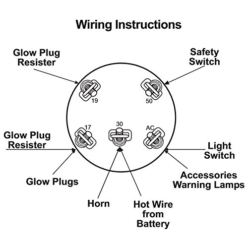 long tractor ignition switch wiring diagram