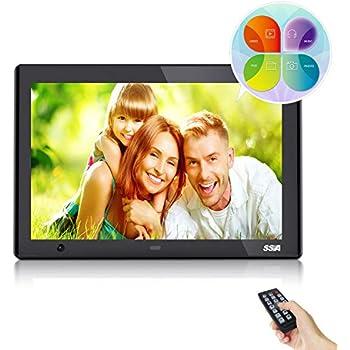 Amazon.com : SSA 10-Inch HD Digital Photo Frame with Motion Sensor ...