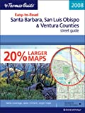 The Thomas Guide Santa Barbara and San Luis Obispo Counties Street Guide, Rand Mcnally, 0528867172