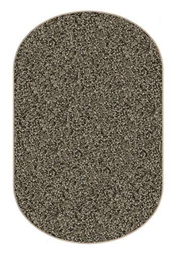 3 X5 Oval Woodland Fleck Frieze Shag Indoor Area Rug Carpet. Soft and Plush 32 oz 3 4 Thick Frieze Indoor Area Rug