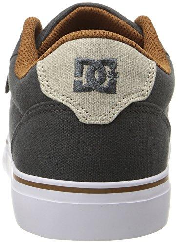 DC Herren Anvil TX Skate Schuh Holzkohle