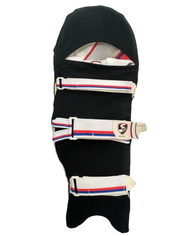 Gortonshire Cricket Pads Colored Skin Black