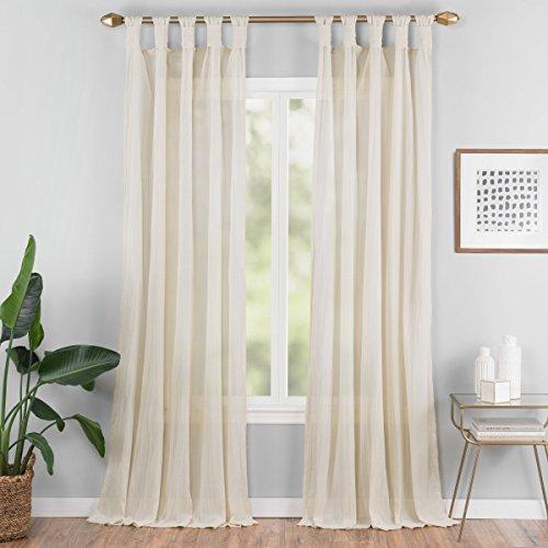 - VUE Sheer Curtains for Bedroom - Priya 50