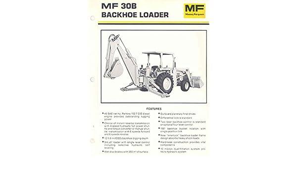 amazon 1980 massey ferguson mf30b backhoe loader brochure Massey Ferguson 20C amazon 1980 massey ferguson mf30b backhoe loader brochure entertainment collectibles