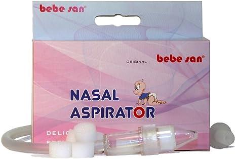 BEBE SAN® ASPIRADOR NASAL + 5 FILTROS DE REPUESTO INCLUIDOS: Amazon.es: Bebé