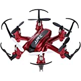 RC Mini Drone, JJRC 4 Channel 2.4GHz 6-Axis Gyro Aircraft Unmanned Pocket Helicopter + Headless Mode 3D Roll Remote Control Quadcopter For Adult Kids Aerial Photography Racing,by ECLEAR