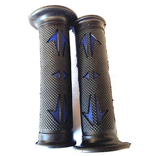 (HTTMT XH4086- Universal ATVs & PWC Rubber Comfort Grips Compatible with QUAD YAMAHA BOMBARDIER JET SKI HONDA FOREMAN RECON RINCON Brute Force Prairie BRUIN GRIZZLY KODIAK(7/8