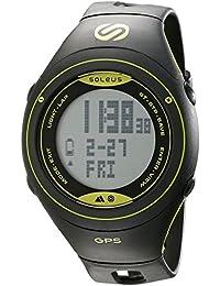 Unisex SG005-052 Cross Country Digital Display Quartz Black Watch