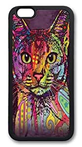 Abyssinian Cat Custom iphone 6 plus Case Cover TPU Black